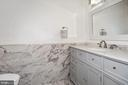 Renovated Full Bath - 1014 13TH ST SE, WASHINGTON