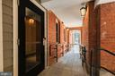 Double door lobby entrance or horse-walk entry - 1745 N ST NW #310, WASHINGTON