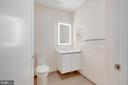 Powder room. - 1745 N ST NW #310, WASHINGTON