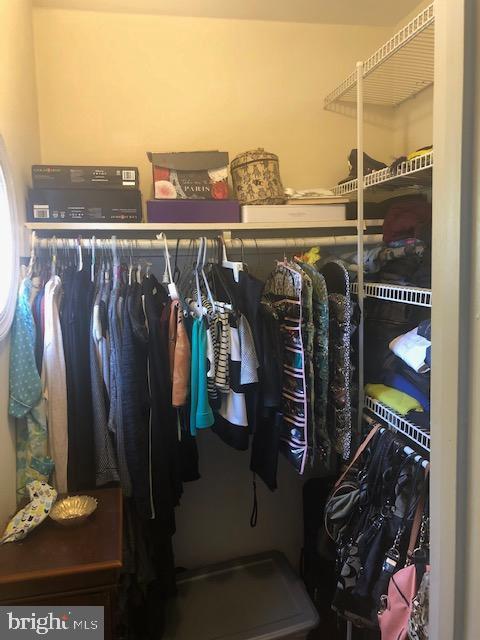 Master Bedroom Walk-In Closet - 322 MEADOW WAY, LANDOVER