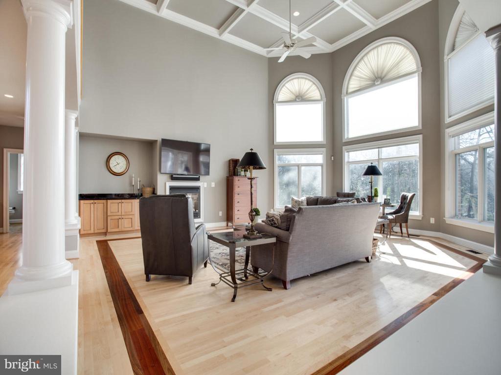 Family Room with Inlay Flooring - 658 ROCK COVE LN, SEVERNA PARK
