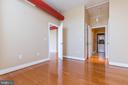 Bedroom two has a spacious closet. - 1201 N GARFIELD ST #316, ARLINGTON