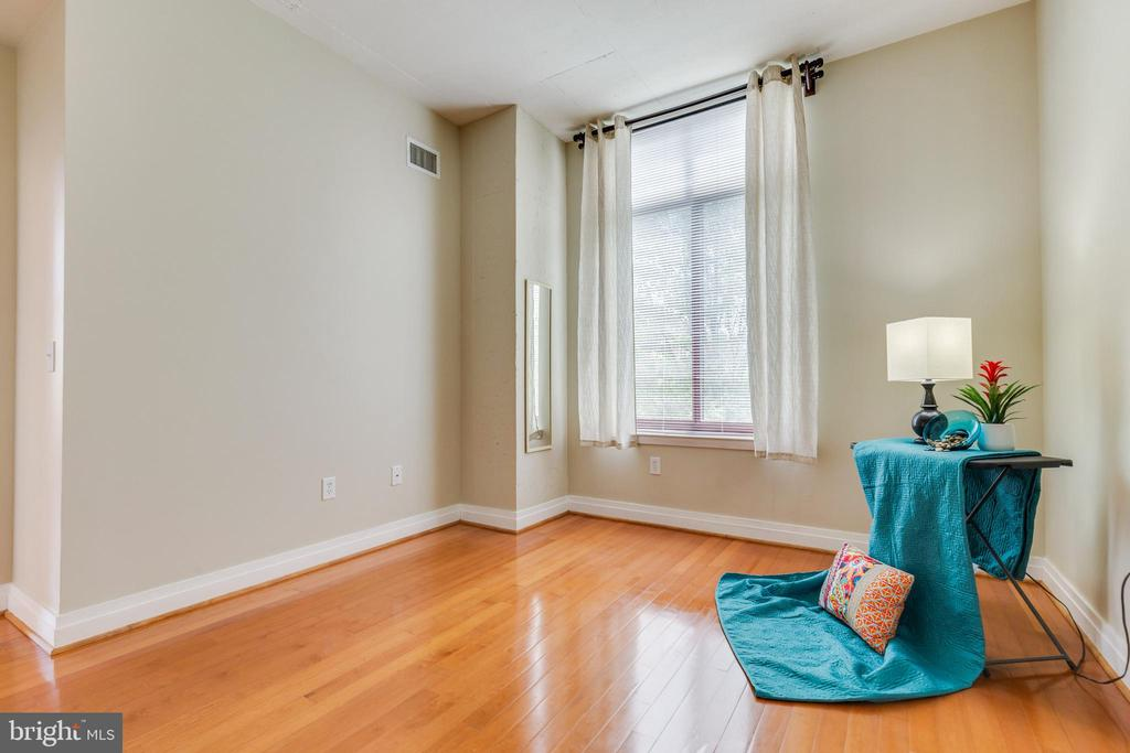 Hardwoods continue and a great street view - 1201 N GARFIELD ST #316, ARLINGTON