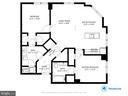 Floor Plan for Unit 316 - 1201 N GARFIELD ST #316, ARLINGTON