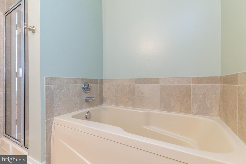 Soaking tub with ceramic surround with shower - 1201 N GARFIELD ST #316, ARLINGTON