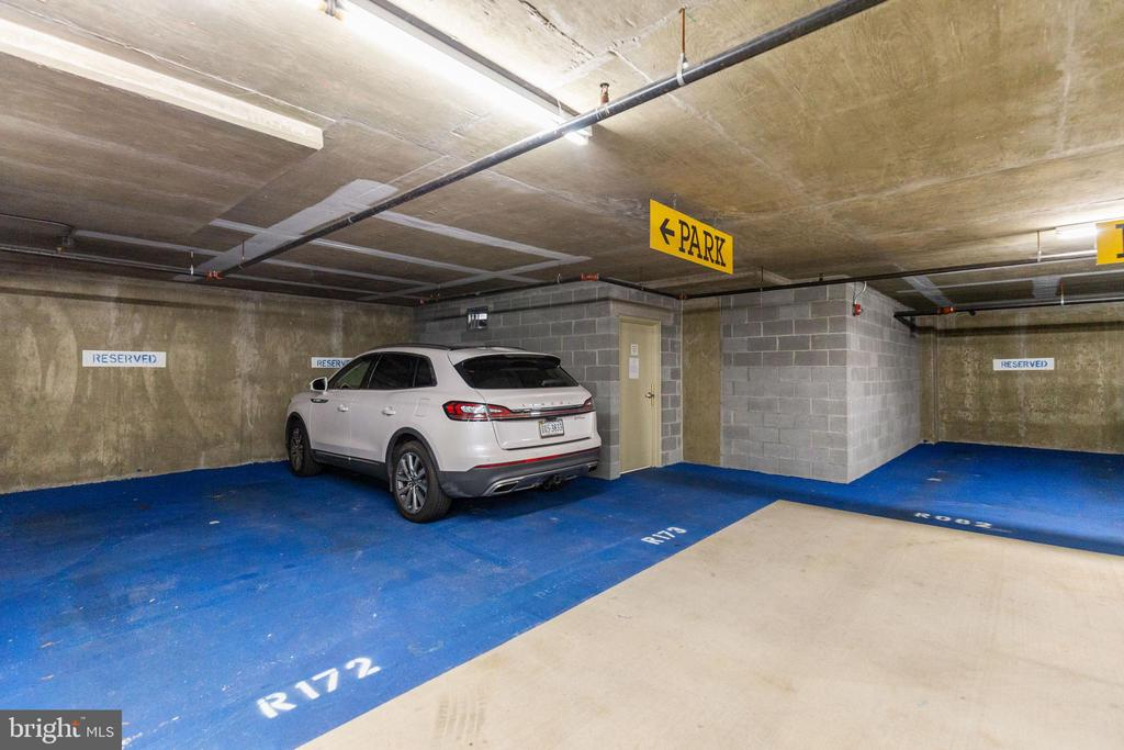 Two parking spaces convey with condo (R172 +173) - 1201 N GARFIELD ST #316, ARLINGTON