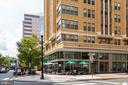 You can walk across the street to an outdoor cafe. - 1201 N GARFIELD ST #316, ARLINGTON