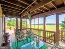 Deck off Living Room - 18505 CABIN RD, TRIANGLE