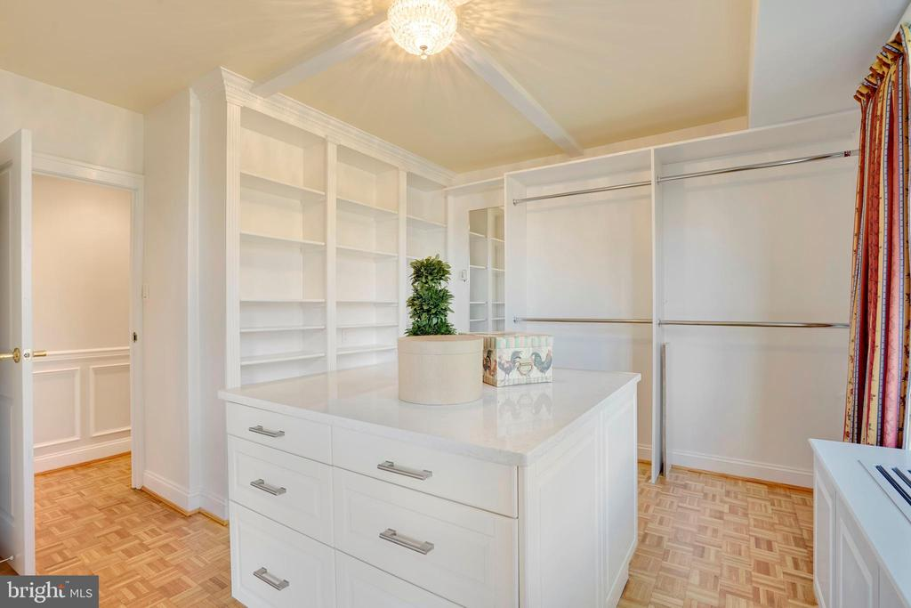 Bedroom #2 configured as a huge Dressing Room - 3900 WATSON PL NW #A-2FG, WASHINGTON
