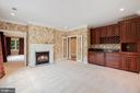 Owner's Sitting Room w/ Wet Bar - 8913 GALLANT GREEN DR, MCLEAN