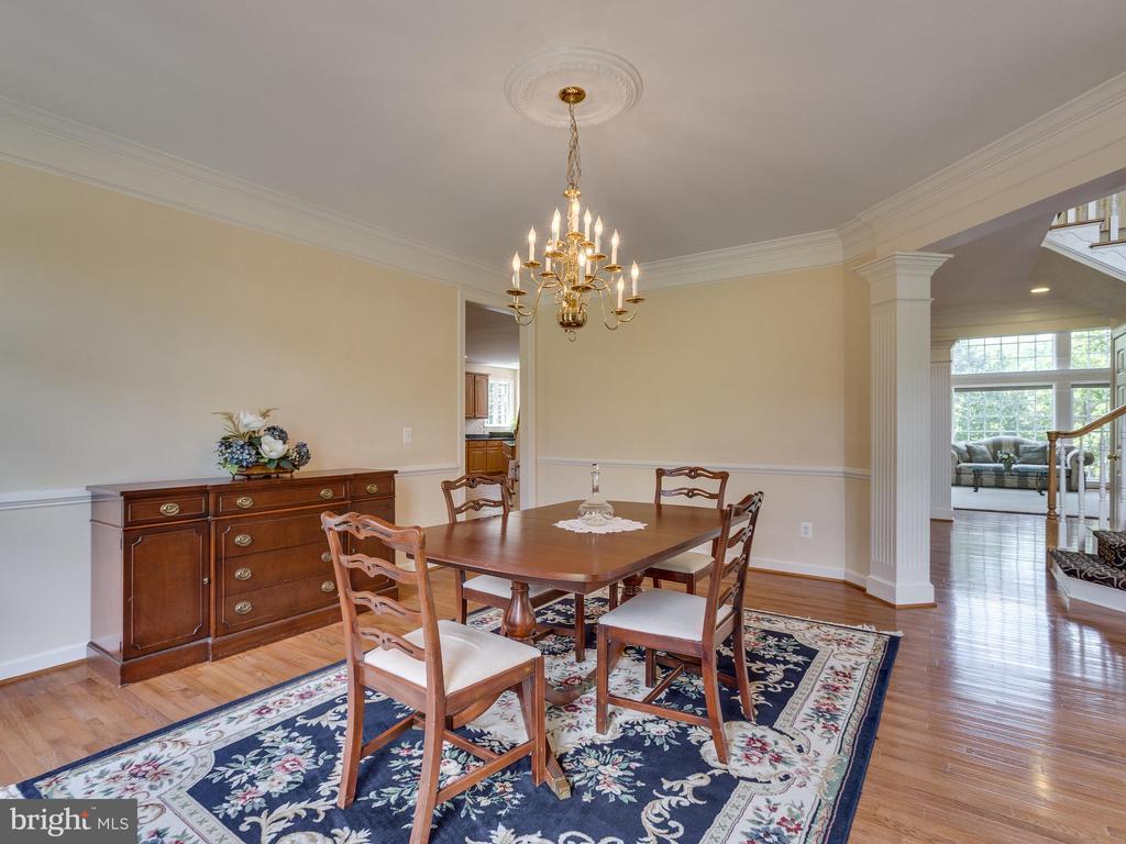 Dining Room - 42294 IRON BIT PL, CHANTILLY