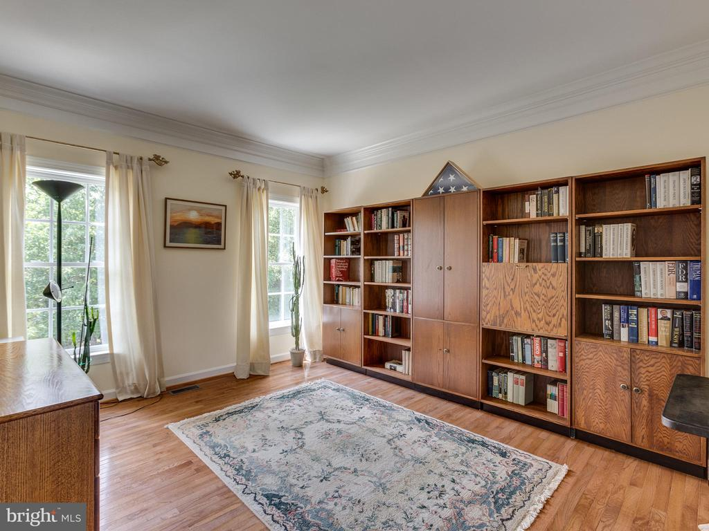French doors open to a study/office. - 42294 IRON BIT PL, CHANTILLY