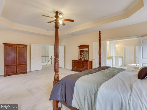 Spacious Master Bedroom. - 42294 IRON BIT PL, CHANTILLY
