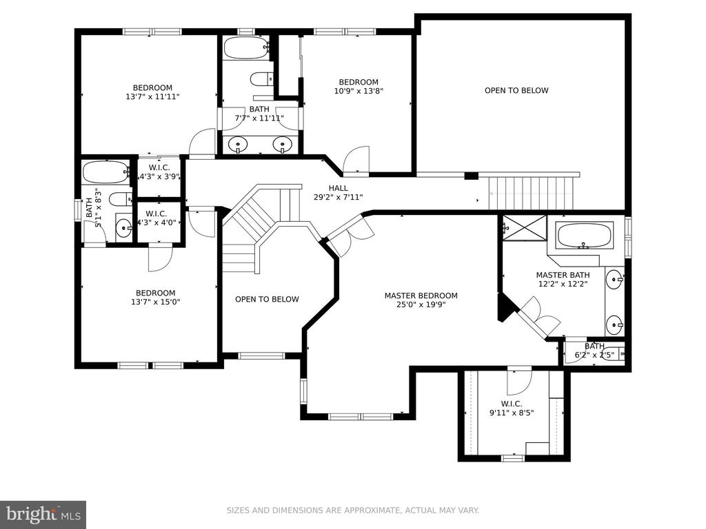 Upper Level Floorplans - 19920 HAZELTINE PL, ASHBURN