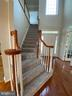 Brand new carpet throughout upper level and stairs - 42939 PARK BROOKE CT, BROADLANDS