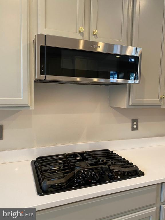 Gas cooktop - 42939 PARK BROOKE CT, BROADLANDS
