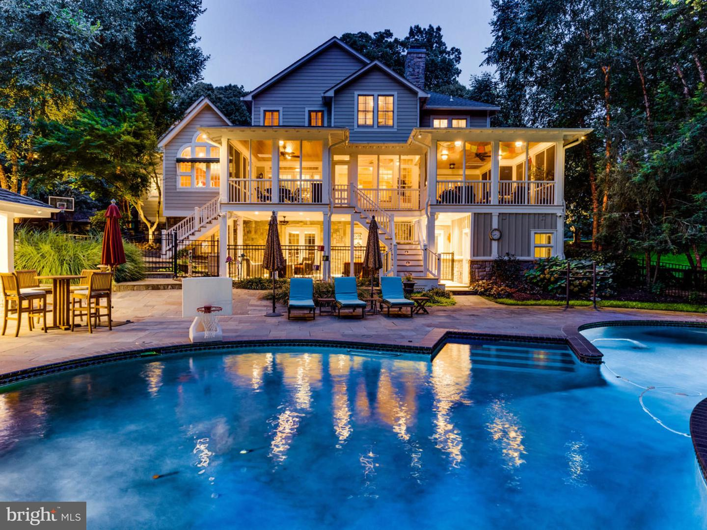 Single Family Homes for Sale at Falls Church, Virginia 22042 United States