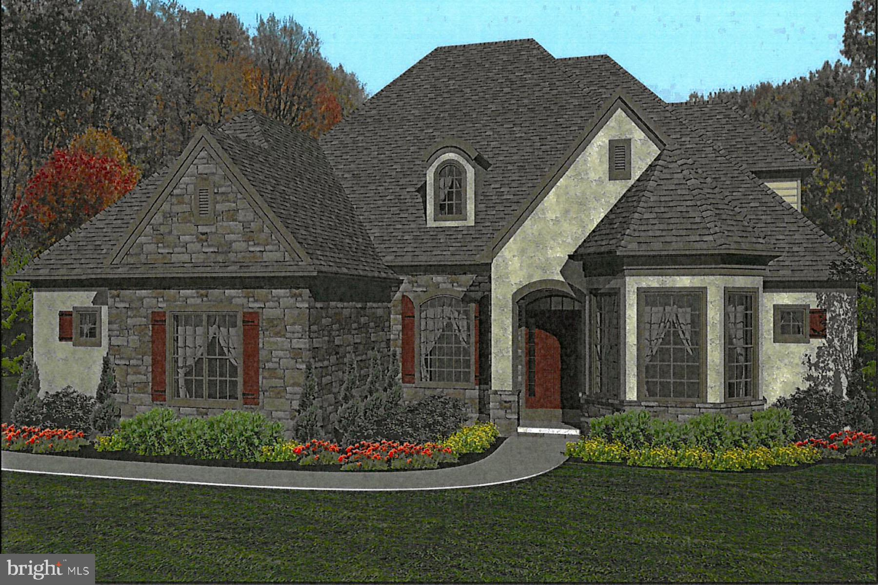 Mansfield Model is a 2-story, 5 bedroom home
