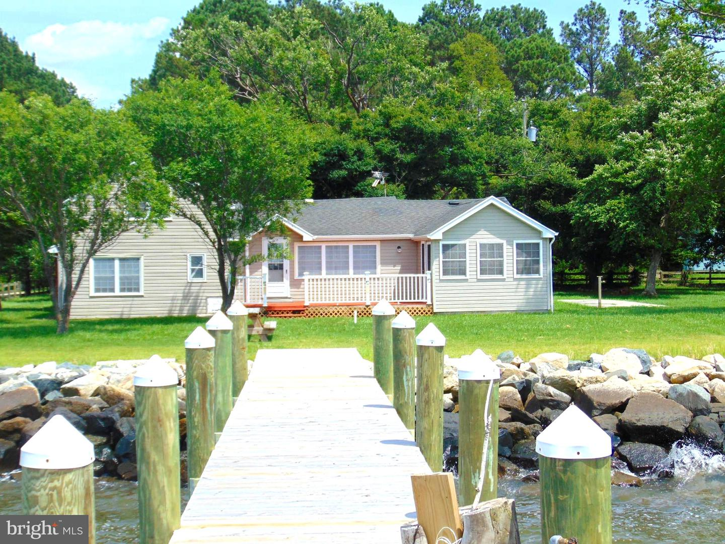 Single Family Homes para Venda às Deal Island, Maryland 21821 Estados Unidos