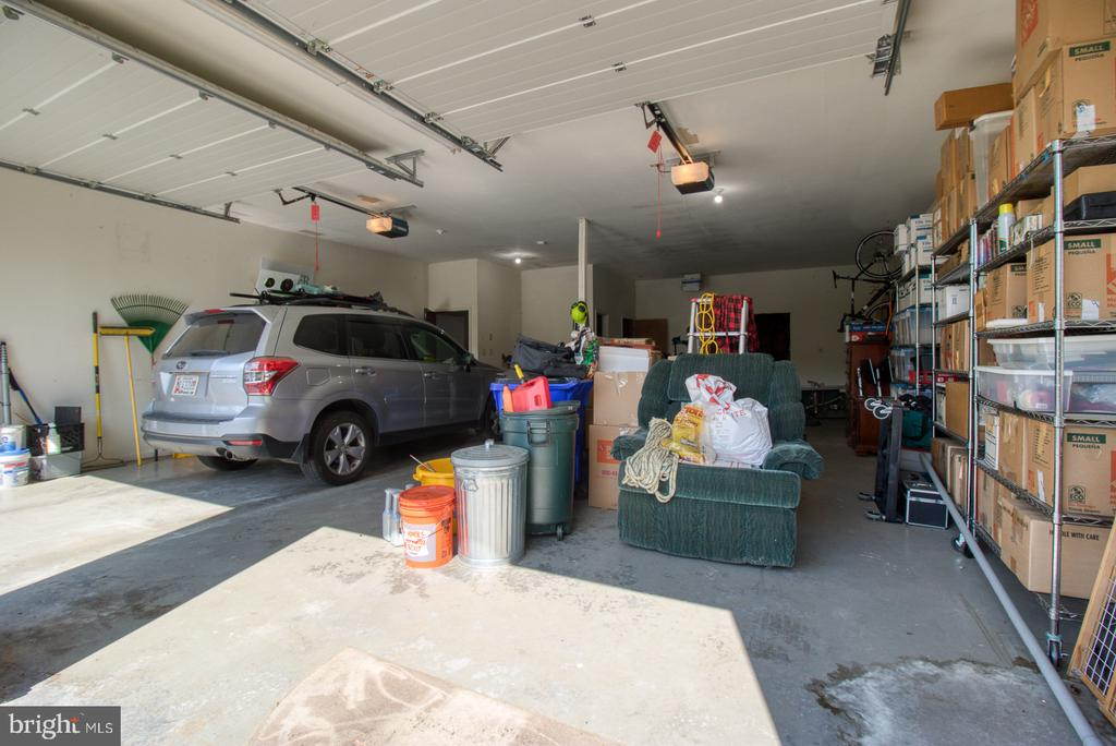 Extra large two car garage in outbuilding - 14016 HARRISVILLE RD, MOUNT AIRY
