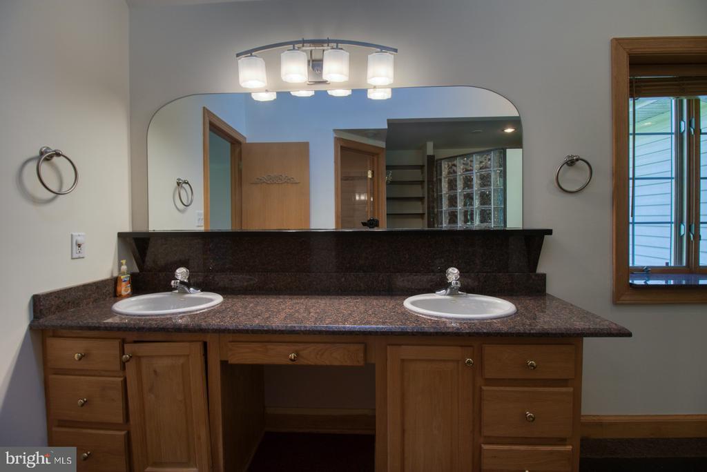 Main bathroom - 14016 HARRISVILLE RD, MOUNT AIRY