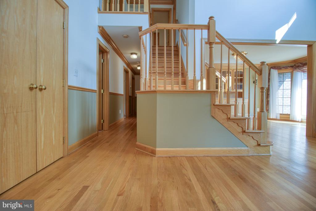 Front foyer - 14016 HARRISVILLE RD, MOUNT AIRY