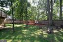 6' Privacy Fence and firepit - 111 S DICKENSON AVE, STERLING
