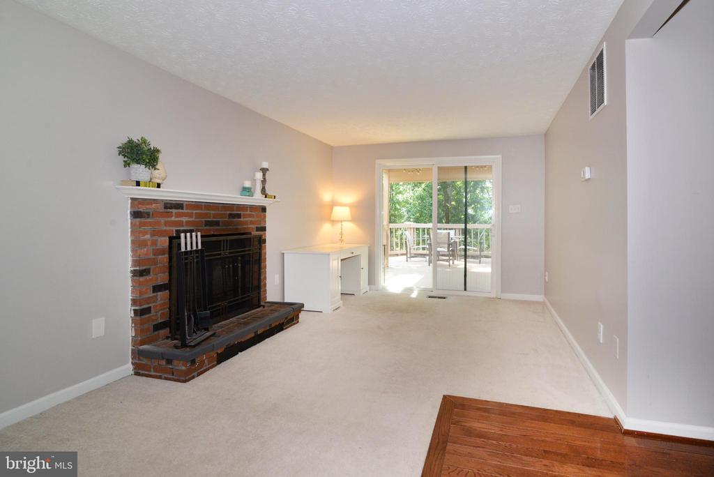 Wood burning fireplace - 111 S DICKENSON AVE, STERLING