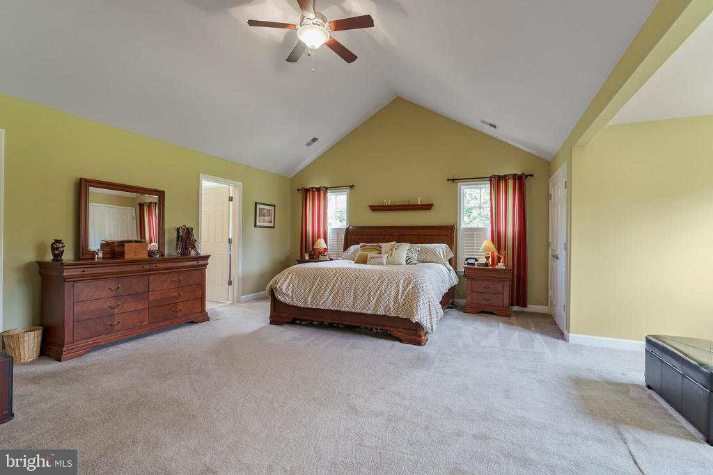 Welcome to your large master suite. - 12 BLOSSOM TREE CT, STAFFORD
