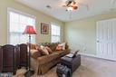 Sitting room off master suite. - 12 BLOSSOM TREE CT, STAFFORD