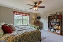 large windows in bedroom - 12 BLOSSOM TREE CT, STAFFORD