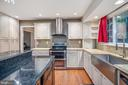 Granite counters in grey and black - 2014 SCHOONER DR, STAFFORD