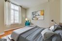 Rest comfortably on a queen size bed. - 1201 N GARFIELD ST #316, ARLINGTON