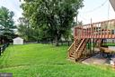 Expansive backyard with many possibilities - 701-B WIRT ST SW, LEESBURG