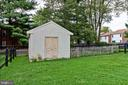 Cute garden shed - 701-B WIRT ST SW, LEESBURG