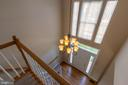 Updated lighting and overlook from upper level - 18728 POTOMAC STATION DR, LEESBURG