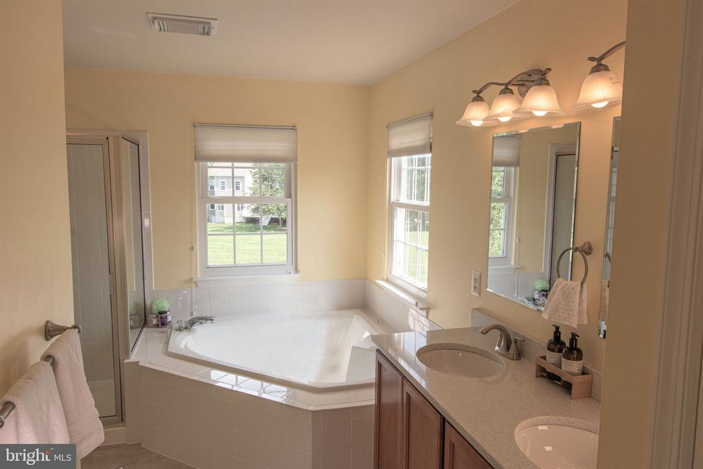 Upgrade master bath with quartz counters! - 18728 POTOMAC STATION DR, LEESBURG