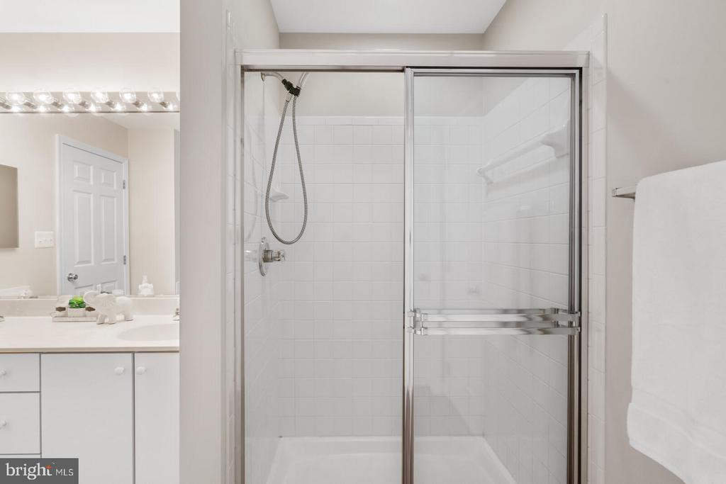 Separate shower - 25495 GOVER DR, CHANTILLY