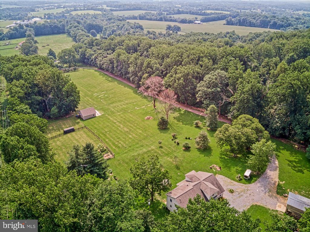 12 Acres - Mostly Open Pasture - 12637 MOUNTAIN RD, LOVETTSVILLE