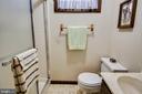 Full basement bathroom - 6906 TOKEN VALLEY RD, MANASSAS