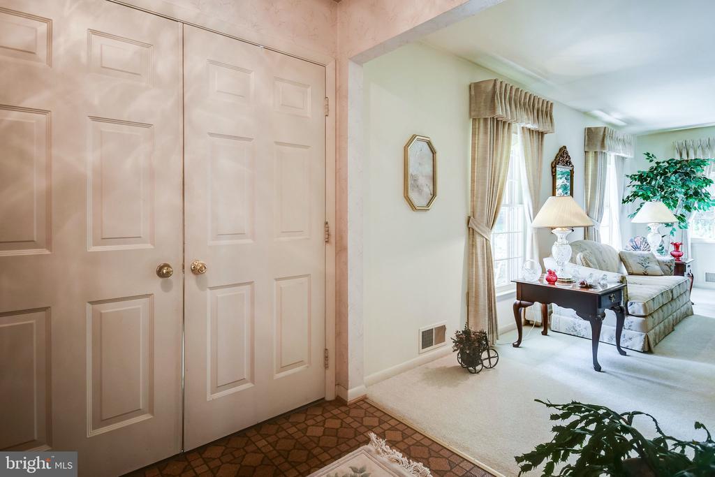Double front door - 6906 TOKEN VALLEY RD, MANASSAS