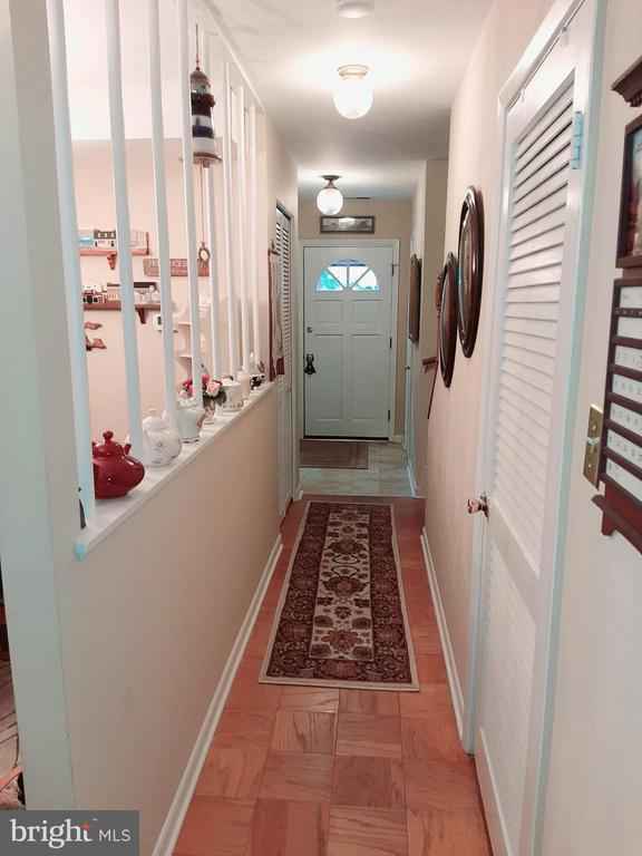 Hall with Utility Room and Storage - 441 GREENBRIER CT #441, FREDERICKSBURG