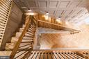 Stairs - 7024 ARBOR LN, MCLEAN