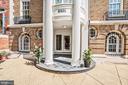 Gracious Entry Courtyard - 2301 CALVERT ST NW, WASHINGTON