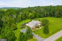 Stunning view of home and acreage! - 17765 BRAEMAR, LEESBURG