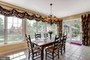Kitchen table space-alt view - 17765 BRAEMAR, LEESBURG