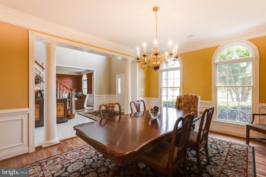 Formal dining room-alt view - 17765 BRAEMAR, LEESBURG