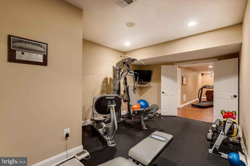 Lower level exercise room - 17765 BRAEMAR, LEESBURG