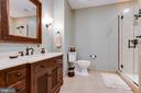 Lower level full bathroom - 17765 BRAEMAR, LEESBURG