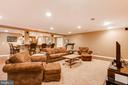 Lower level media area- alt view - 17765 BRAEMAR, LEESBURG